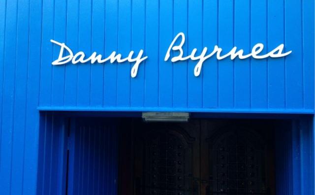 Laser Cut Acrylic Letters - Danny Byrnes, Mullingar