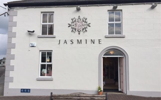 Painted Foamex Letters & Logo - Jasmine