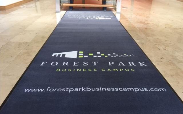 Branded Floor Mat - Forest Park Business Campus