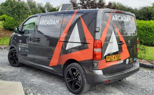Partial VehicleWrap - Arcadian I.T.