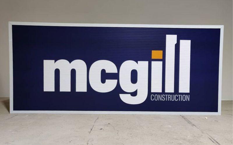 Tower Crane Lightbox - McGill Construction