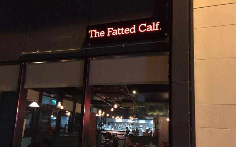 Fret Cut Lightbox - The Fatted Calf, Athlone
