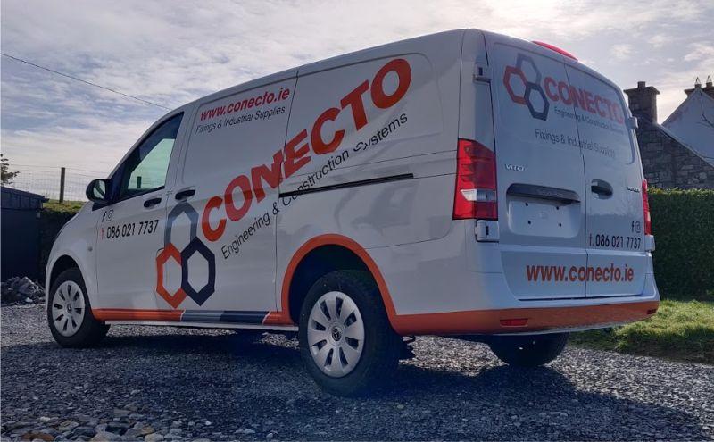 Partial Van Wrap - Conecto