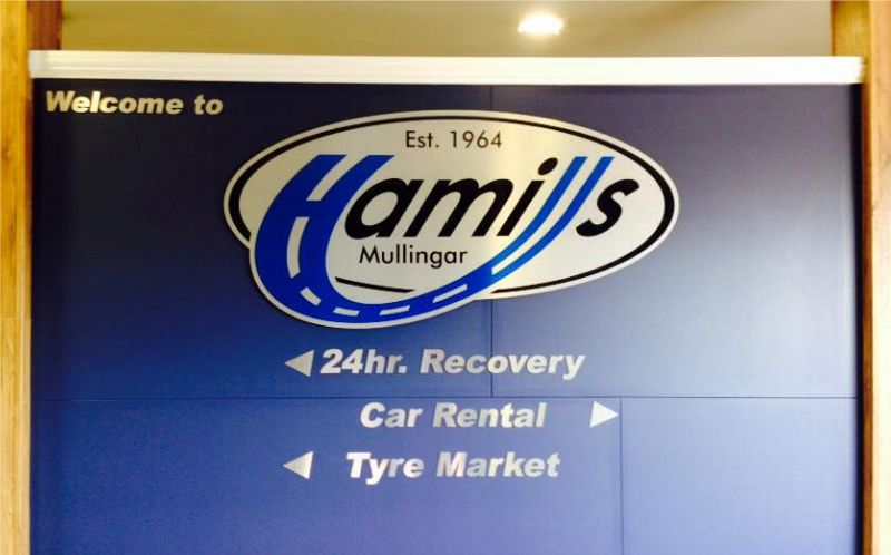 Cut Butler Composite with Printed Graphics - Hamills, Mullingar