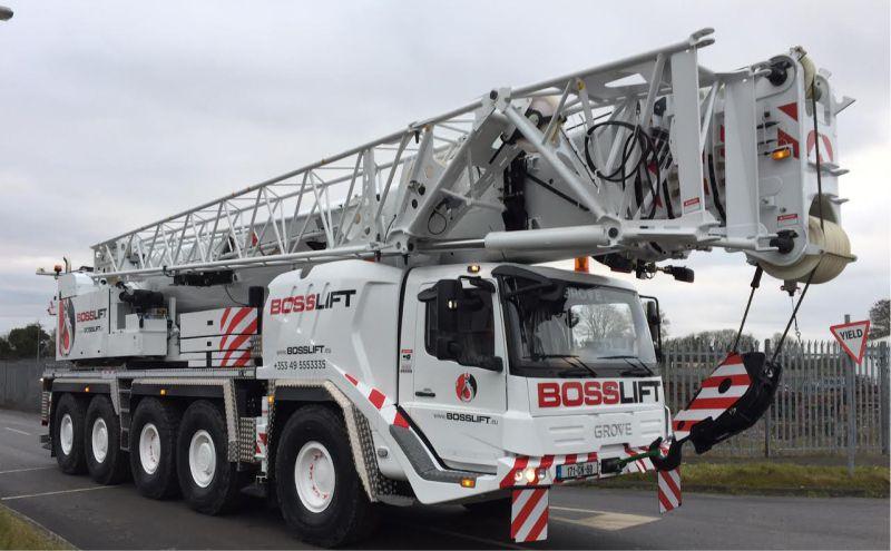 Vehicle Graphics on Mobile Crane