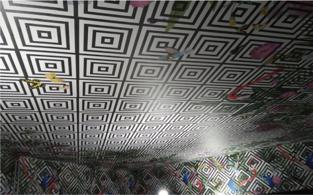 Printed Ceiling Wrap - John Daly, Mullingar