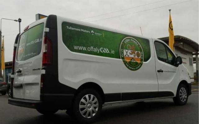 Van Panel Wraps - Offaly GAA - Tullamore Motors