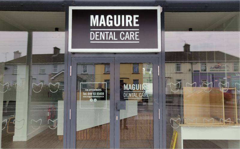 Perspex Built Lightbox with Vinyl Graphics and Frosted Window Graphics