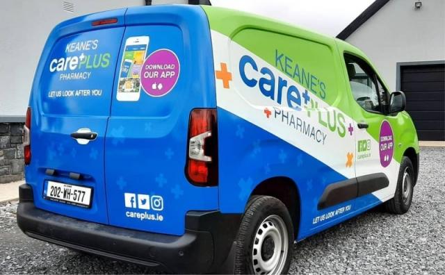 Full Van Wrap - Keane's Care Plus