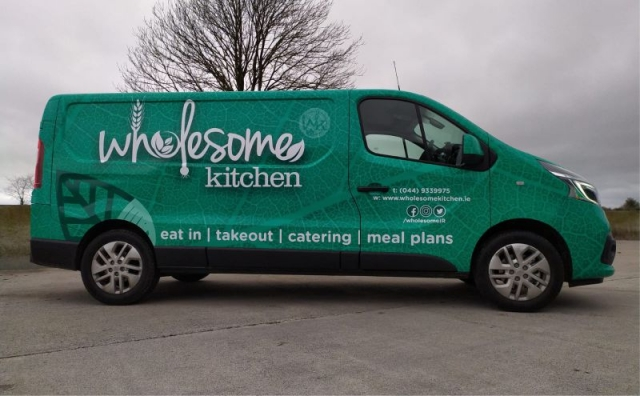 Full Van Wrap - Wholesome Kitchen