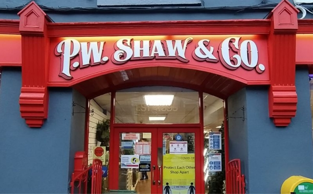 Layered Raised Letters with Gilded Bevel & Print and Cut Graphics - Shaw's Hardware