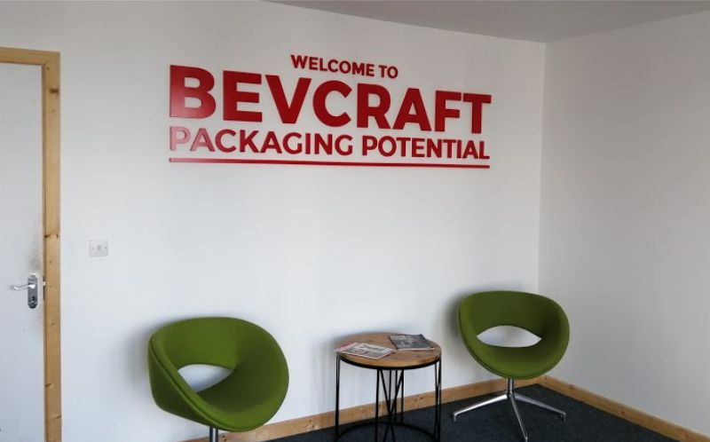 Painted Foamex Raised Letters - Bevcraft