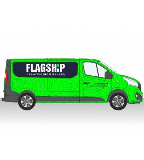 Medium Van Full Wrap